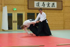 Aikidotraining in Wels - Dezember 2015: Kokyonage