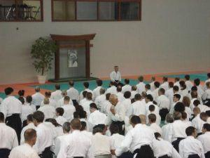 Aikidolehrgang in Lesneven 2008