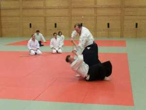 Aikido Training im Budokan Wels April 2012