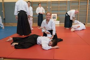 Aikido Training in Linz Mai 2015: Nikkyofixierung