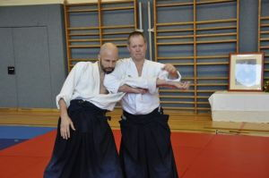 Aikidolehrgang mit Mark Pickering in Linz, 30./31.01.2015 - Armhebel